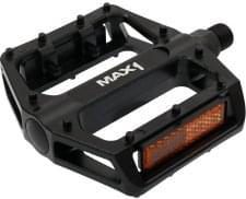 Pedály MAX1 BMX černé s piny