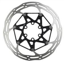 Kotouč SRAM Centerline 2 Piece 180mm Black (v balení titanové šrouby) Rounded