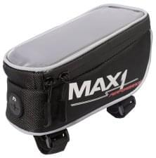 brašna MAX1 na rámovou trubku s kapsou pro mobilní telefon reflex