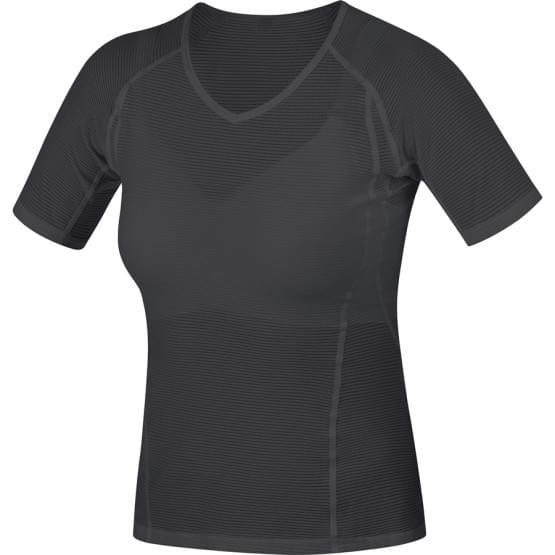 Gore spodní triko dámské krátký rukáv Base Layer Black
