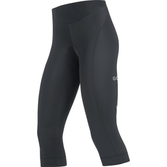 Gore kalhoty 3/4 dámské C3 Tights+ Black