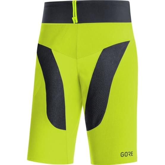 Gore šortky pánské C5 Trail Light+ Citrus Green/Black