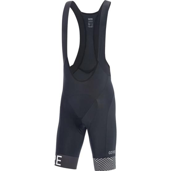 Gore kalhoty pánské krátké laclové C5 Optiline+ Black/Wht