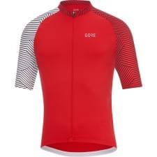 Gore dres pánský krátký rukáv C5 Optiline Red/Wht