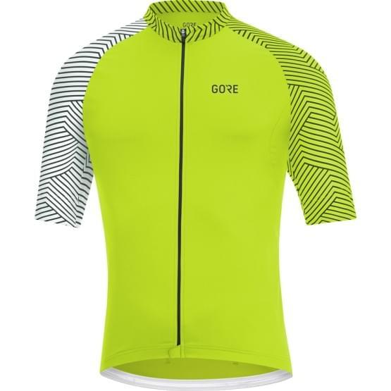 Gore dres pánský krátký rukáv C5 Optiline Citrus Green/White