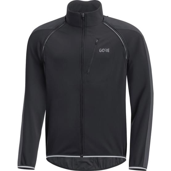 Gore bunda pánská C3 WS Phantom Zip-Off Jacket Black/Terra Grey