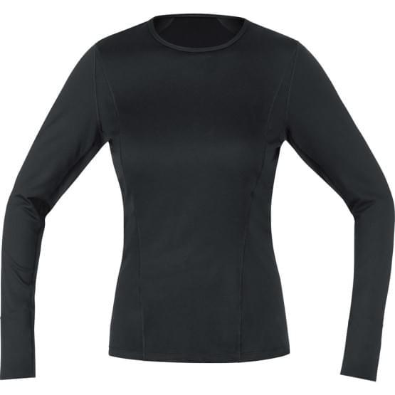 Gore spodní triko dámské dlouhý rukáv Base Layer Thermo Black