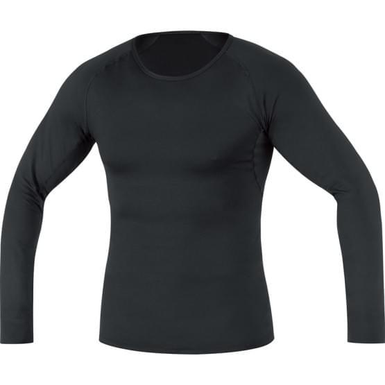 Gore spodní triko pánské dlouhý rukáv Base Layer Thermo Black