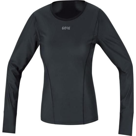 Gore spodní triko dámské dlouhý rukáv Base Layer WS Thermo Black