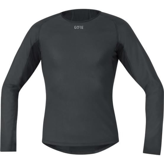 Gore spodní triko pánské dlouhý rukáv Base Layer WS Black