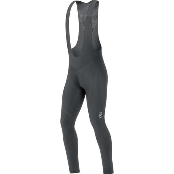 Gore kalhoty pánské dlouhé C3 Thermo Bib Tights+ Black