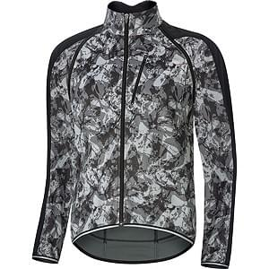 Gore bunda pánská C3 WS Phantom Zip-Off Camo Jacket Terra Grey