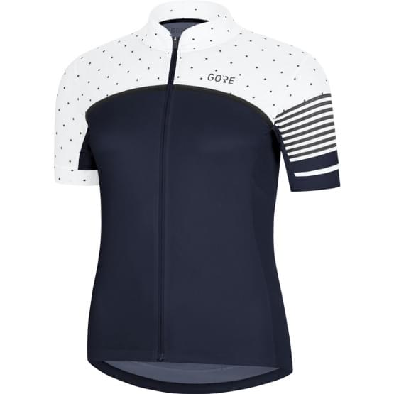 Gore dres dámský krátký rukáv C7 CC Orbit Blue/White