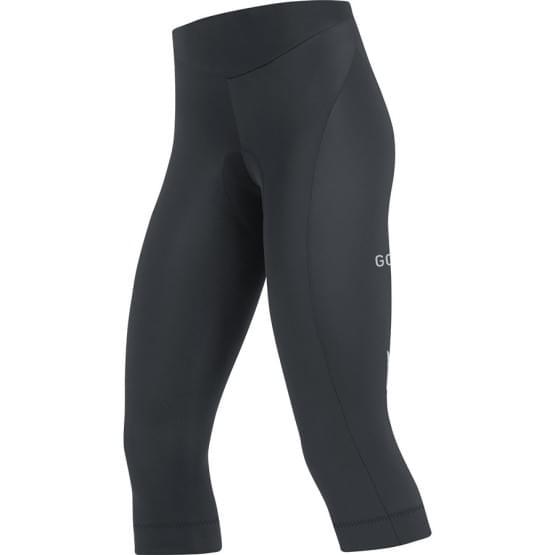 Gore kalhoty 3/4 dámské C3 Tights + Black