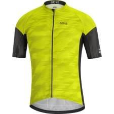 Gore dres pánský krátký rukáv C3 Knit Design Citrus Green/Black