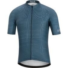 Gore dres pánský krátký rukáv C3 Line Brand Deep Water Blue/Orbit Blue