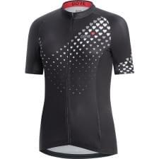 Gore dres dámský krátký rukáv C3 Heart Black/White