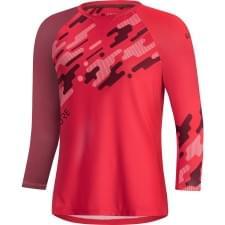Gore dres 3/4 rukáv dámský C5 Hibiscus Pink/Chestnut Red