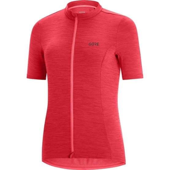 Gore dres krátký rukáv dámský C3 Hibiscus Pink