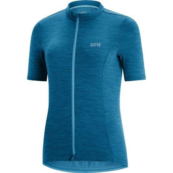 Gore dres krátký rukáv dámský C3 Sphere Blue