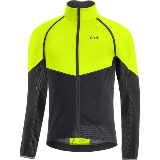 Gore bunda pánská Phantom Jacket Neon Yellow/Black