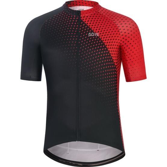 Gore dres pánský krátký rukáv Flash Black/Red