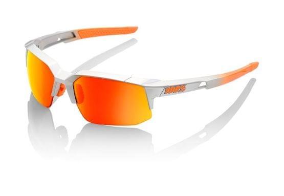 Brýle 100% SpeedCoupe Sport Arc Light/Orange Multilayer Mirror Lens