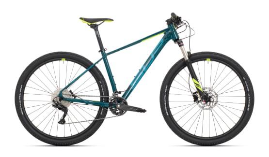 Horské kolo Superior XC 889 Gloss Turquoise/Neon Yellow 2021