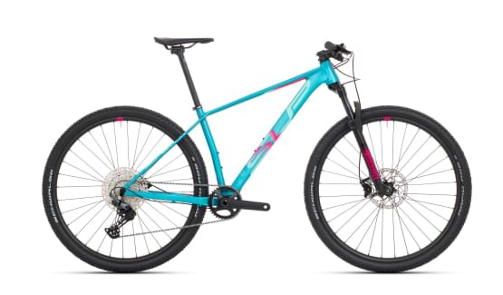 Horské kolo Superior XP 909 Matte Turquoise/Pink Red 2021