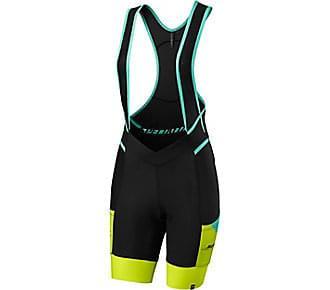 Kraťasy Specialized dámské laclové Women's Mountain Liner Bib Shorts SWAT neon coral vel. M