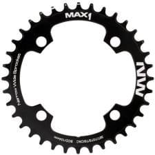 Převodník MAX1 Narrow Wide, rozteč 104mm, materiál Al7075, CNC, elox