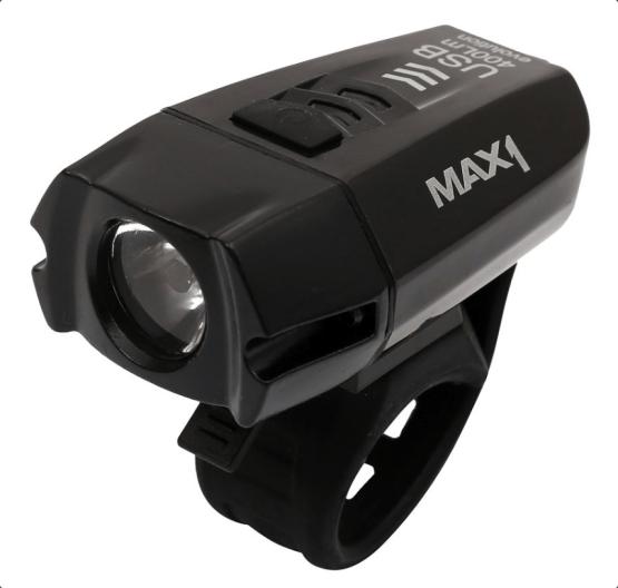 Přední světlo MAX1 Evolution USB 400Lm