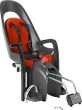 Dětská sedačka Hamax Caress tmavě šedá/červená
