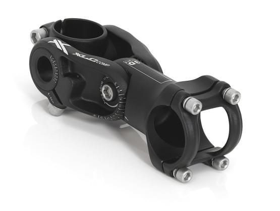 """XLC Představec Comp A-Head představec ST-T15 černá, 2x nastavitelný, 1 1/8"""", O 31,8mm, 100 mm"""