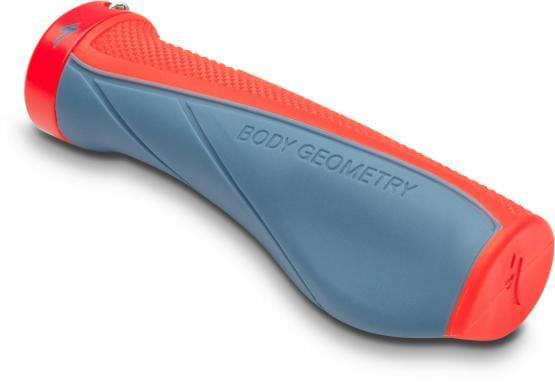 Gripy Specialized BG CONTOUR XL LOCKING Strm Gry/Rkt Red