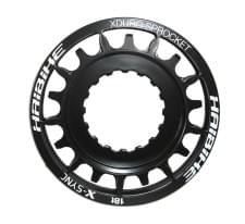 Pastorek Haibike cerná,18 zubu,pro Plus-Bike,Bosch