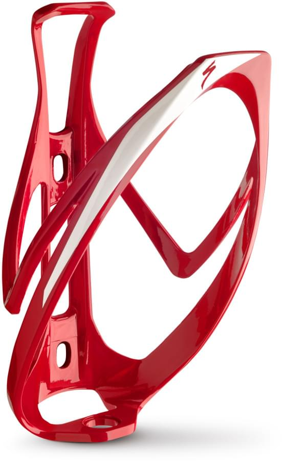 Košík na láhev Specialized Rib cage 2 red/wht