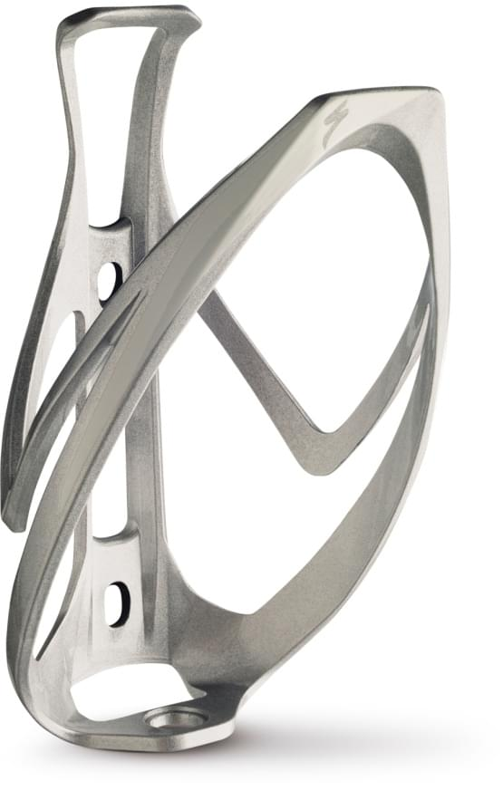 Košík na láhev Specialized Rib cage 2 sil/wht