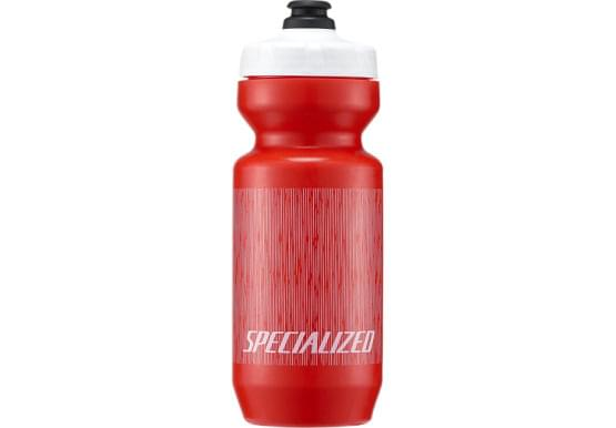 Láhev 0.65L Specialized PURIST MOFLO Red/Wht Linear Blur