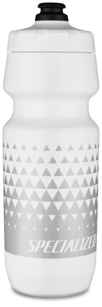 láhev specialized purist bm 2nd gen wht/metsil triangle fade 700 ml