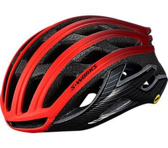 Helma Specialized S-Works Prevail II ANGI Mips rktred / crmsn / blk