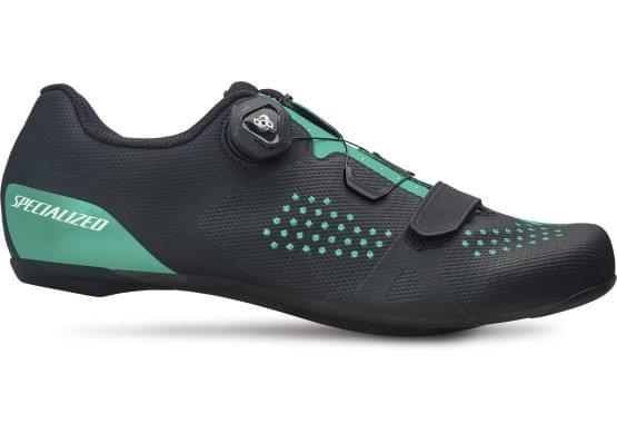 Cyklistické tretry Specialized TORCH 2.0 WMN BLACK/ACID MINT