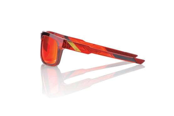 Brýle 100% Type S Cherry Palace/Deep Red Mirror Lens