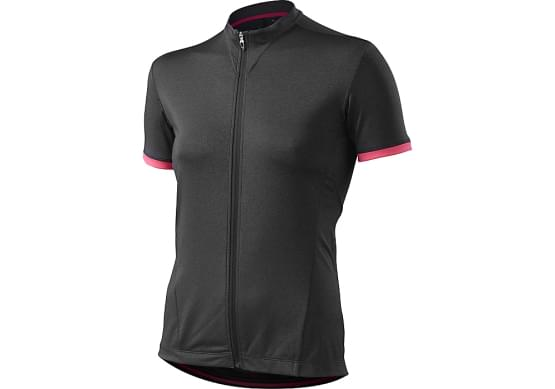 Dres Specialized krátký rukáv W.RBX COMP 16 CARB HEATHER/NEON PINK