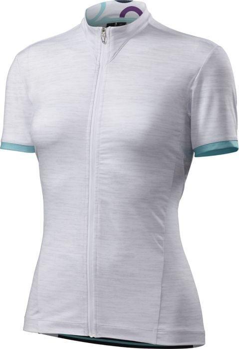 Dres Specialized krátký rukáv W.RBX COMP 16 LT GRY/FUCHSIA