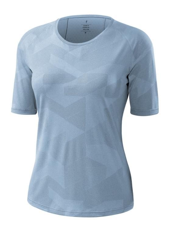 Dres Specialized dámský krátký rukáv EMMA TRAIL WMN SKY BLUE