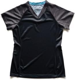 Dres Specialized krátký rukáv W.ANDORRA COMP 2019 Blk/Char Lightspeed
