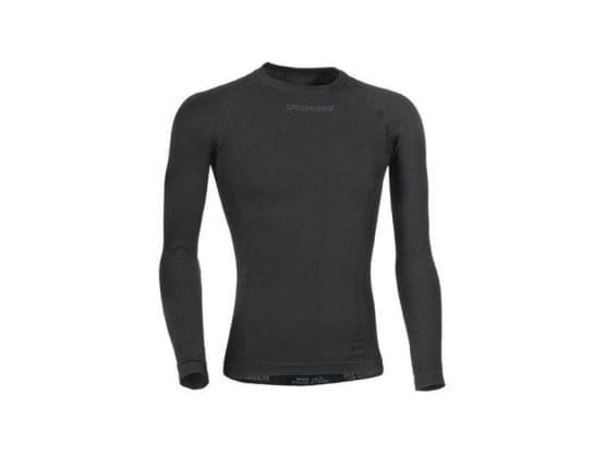 Spodní triko Specialized dlouhý rukáv pánské Saemless Blk