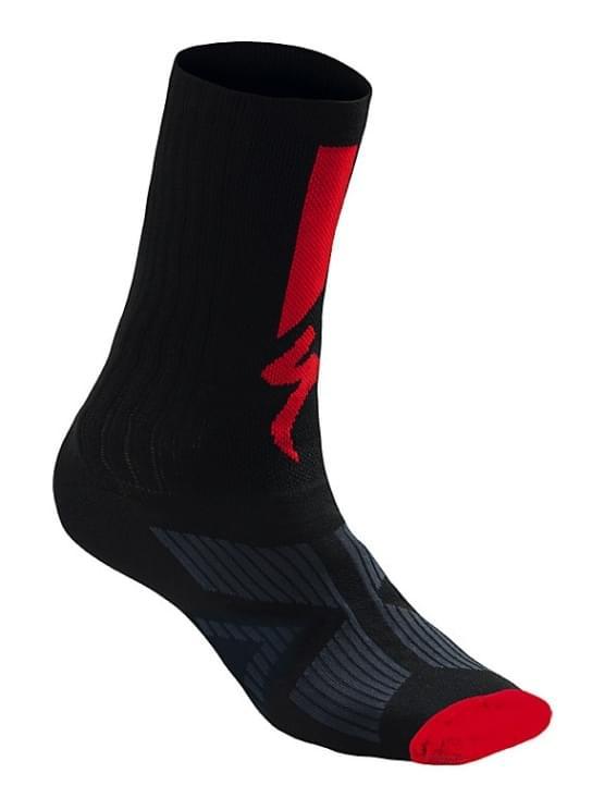 Ponožky Specialized SL ELITE 2017 BLK/RED