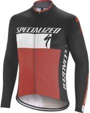 Dres Specialized dlouhý rukáv pánský Element RBX COMP LOGO BLACK/WHITE/RED